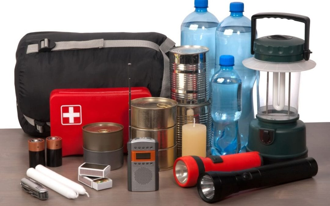 safety essentials for your home include a well-stocked disaster kit